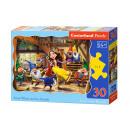 Puzzle 30 elementi Snow White E I NANI