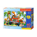 Puzzle MAXI 40 elementi softies su Safari