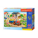 MAXI 40 elementi puzzle: Life on the Farm