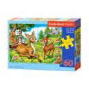 Großhandel Puzzle: Logische Elemente 60 Lieber Little Deer