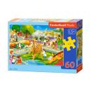 Puzzle 60 elementi di ZOO VISIT