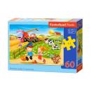 Puzzle de 60 éléments d'été à la campagne