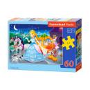 Puzzle 60 items Cinderella