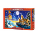 wholesale Toys: Puzzle 1000  elements: Howling Wolves