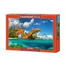 wholesale Toys: Puzzle 1000  elements DOLPHIN PARADISE