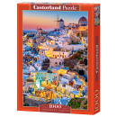 Puzzle 1000  elements SANTORINI LIGHTS