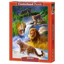 wholesale Puzzle: Puzzle 1000 elements BIG CATS