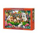 Puzzle 1000 pezzi ANIMALI NEL PARCO