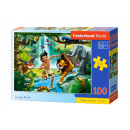 Puzzle da 100 pezzi Jungle Book