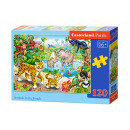 wholesale Puzzle: Puzzle 120  elements: Animals in the Jungle