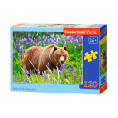 wholesale Puzzle: Puzzle 120 elements: Bear On The Meadow