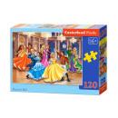 Puzzle 120 elementi: Princess BALL
