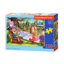 Puzzle 120 elements: ALICE IN WONDERLAND
