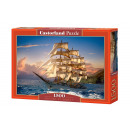 Puzzle 1500 pieces Sailing at Sunset