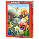 Puzzle 1500  elements Golden Irises