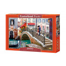 Großhandel Spielwaren: Puzzle 2000 Elemente Venedig Brücke