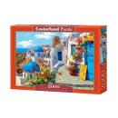 Puzzle 2000 elements: Spring in Santorini