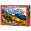 wholesale Toys: Puzzle 2000 Church  of St. Magdalena, Dolomites