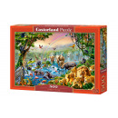 Puzzle 500 pieces Jungle River