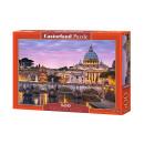 Puzzle 500 Teile: Blick auf den Vatikan