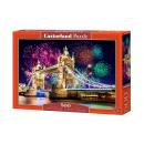 500 pièces Puzzle:  Tour-Bridge, Angleterre