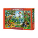 wholesale Puzzle: Puzzle 500 items  LIFE HIDDEN IN JUNGLE