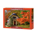 Puzzle 500 items Gothic HOUSE IN AUTUMN