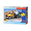 wholesale Toys: Puzzle MIDI 70  elements: Truck Mixer