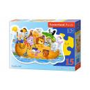 wholesale Toys: Puzze CONTOUR 15  elements: Noah's Ark