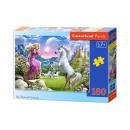 Puzzle 180 elementów: My Friend Unicorn