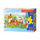 wholesale Puzzle: Puzzle of 30  elements CONTOUR: Little Deer