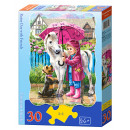 wholesale Toys: Puzzle of 30  elements CONTOUR: Rainy Day