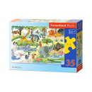 wholesale Toys: Puzzle MIDI 35 elements: At the Zoo