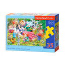 Puzzle MIDI 35 elements: Snow White