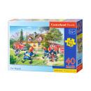 Puzzle MAXI 40 rész tűzoltóság