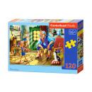 120 elementi puzzle: Pinocchio