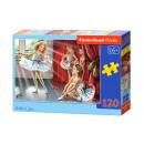 120 Puzzle-Elemente: Ballett-Klasse