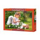 Puzzel 500 stuks Engel van de tuin