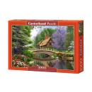 Puzzle 1000 elements: River Cottage