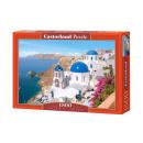 Puzzle 1500 db Santorini, Görögország