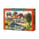 Großhandel Spielwaren: Puzzle 2000 Elemente: Copy of Water Mill Cottage