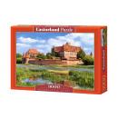 Großhandel Spielwaren: Puzzle 3000 Elemente: Malbork Schloss, Polen