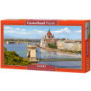 Puzzle 4000 Der Blick über die Donau, Budapest