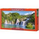 Puzzle 4000 Elemente: Krka Wasserfälle, Kroatien