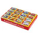 wholesale Puzzle: MINI PUZZLE 54 elements fairytale VEHICLES - MIX W