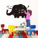 Großhandel Wandtattoos: Big Elephant Tafel Aufkleber