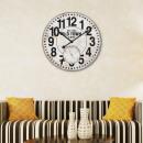 grossiste Horloges & Reveils: Walplus MDF  Horloge murale - 60cm