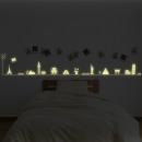 grossiste Stickers mureaux: Glow in the Dark -  Voyage autour du monde