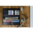 Großhandel Taschen & Reiseartikel: Continental Wallet - Black Button