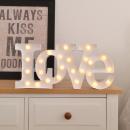 grossiste Ampoules: Carnival Ampoule LED LOVE - Blanc